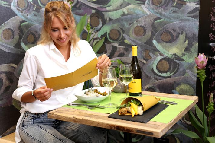 un pranzo da Baccalunch - ristorante di pesce a Firenze