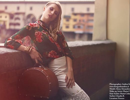modella Fashion Editorial Firenze