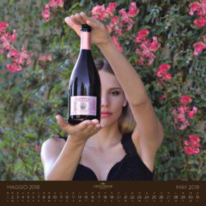 Frescobaldi Vini Pubblicità ADV Calendario