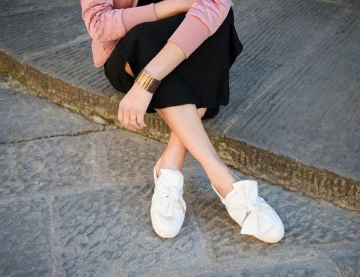 modella gambe lookbook scarpe Firenze Jiudith Way