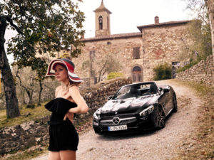 modella Mercedes Benz Toscana
