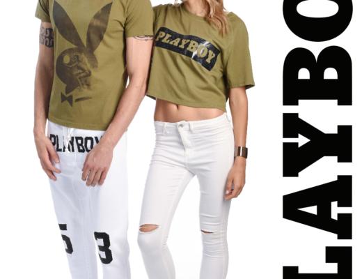 modelli Alena Mayuk e Riccardo Stellini per foto di Playboy abbigliamento