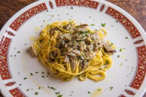 Tagliolini Funghi Porcini - Ristorante Mamma Gina a Firenze