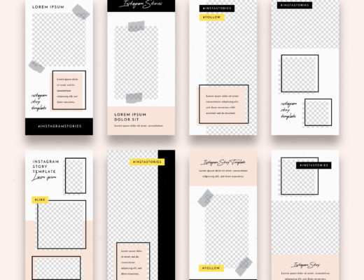 Freepik - Instagram Stories Template